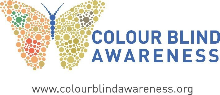 Colour Blind Awareness logo