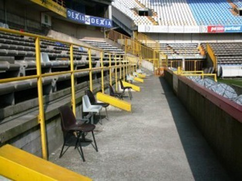 Wheelchair user seating area