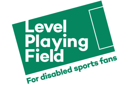 Level playing field, for disabled sports fans