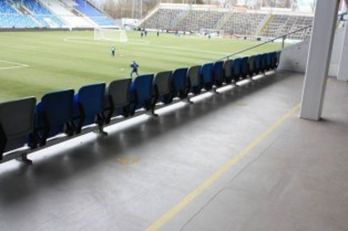 Sightlines from wheelchair user area