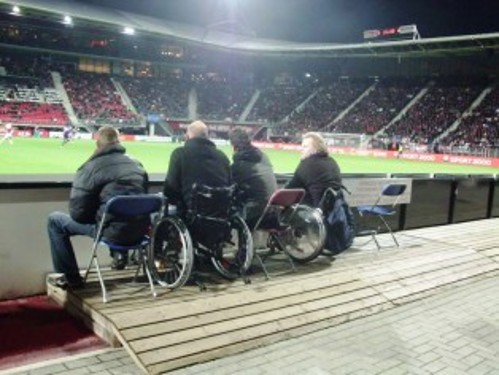 Wheelchair user spaces