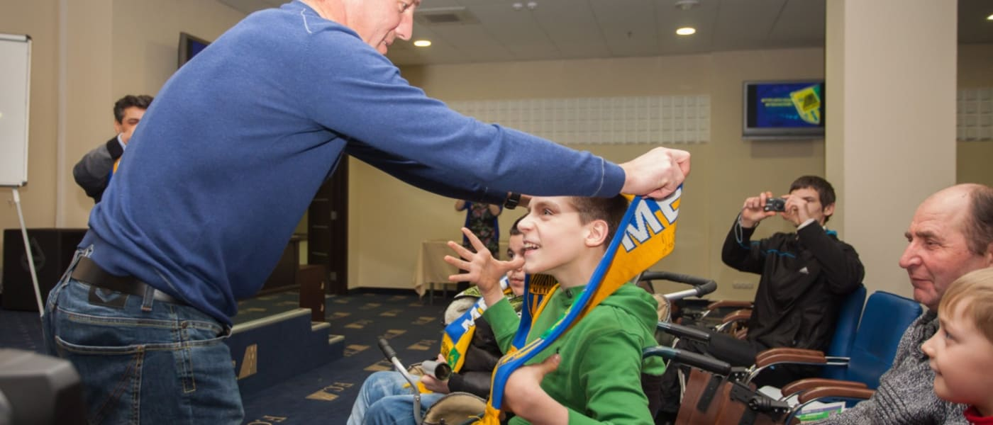 Disabled Supporters Association launched at Metalist Kharkiv
