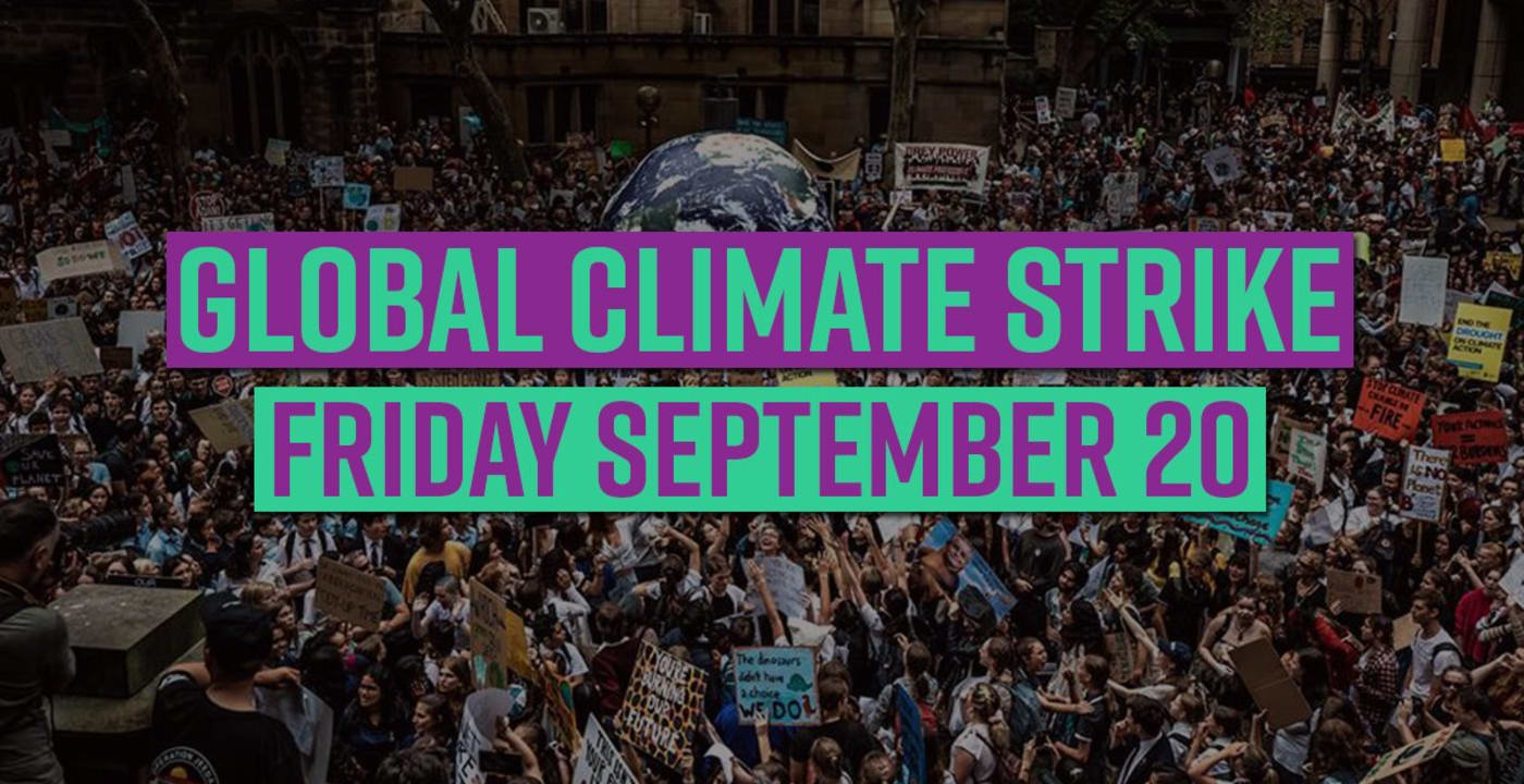 CAFE team supports Global Climate Strike 2019