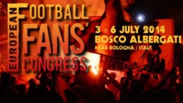 Football Fans Congress 2014 poster