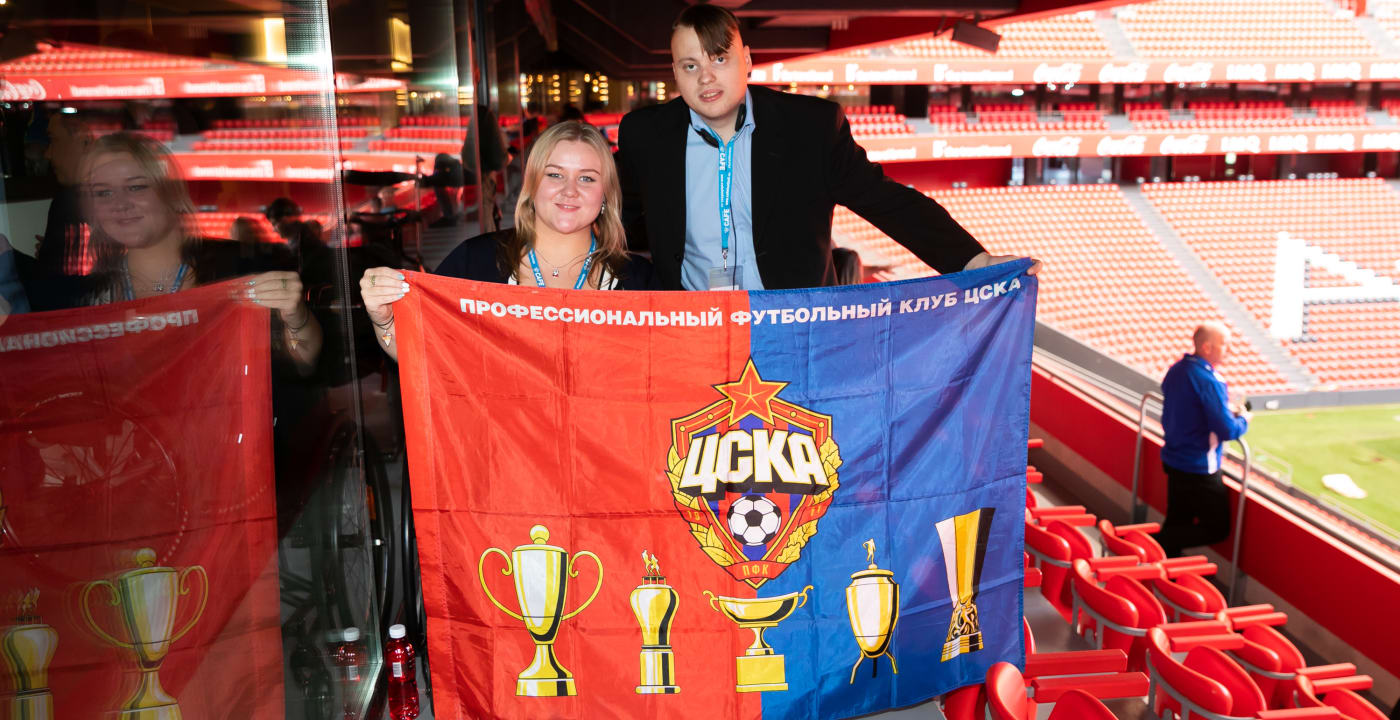 Disabled supporters association established at CSKA Moscow