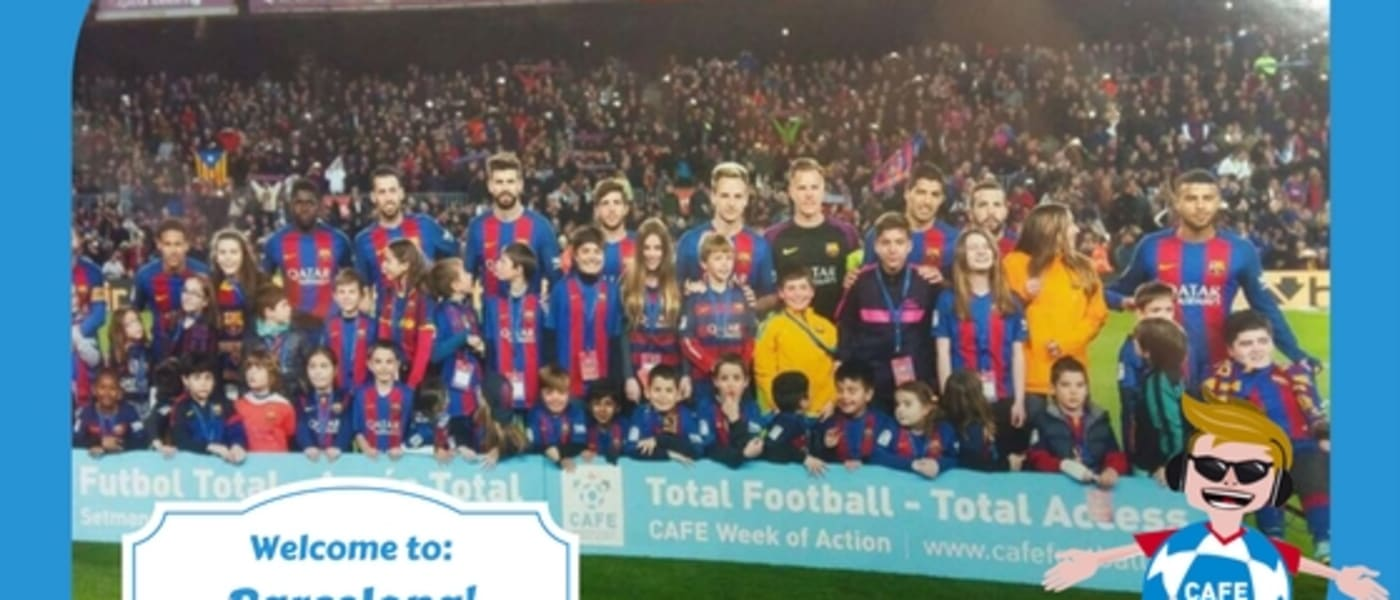 Max Access with the Barcelona football team