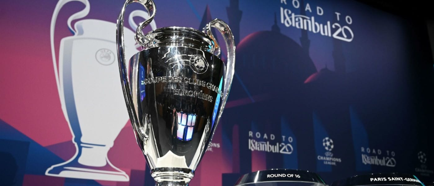 UEFA Champions League 2020 trophy