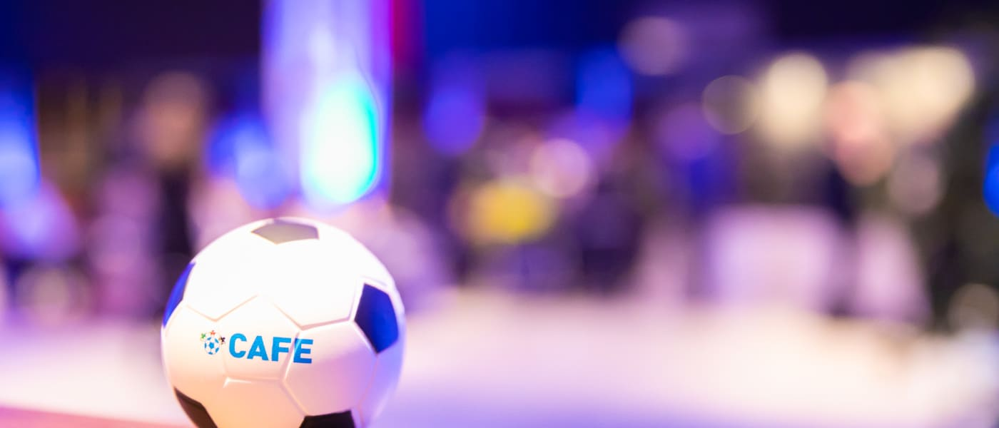 CAFE football at CAFE International Conference 2018