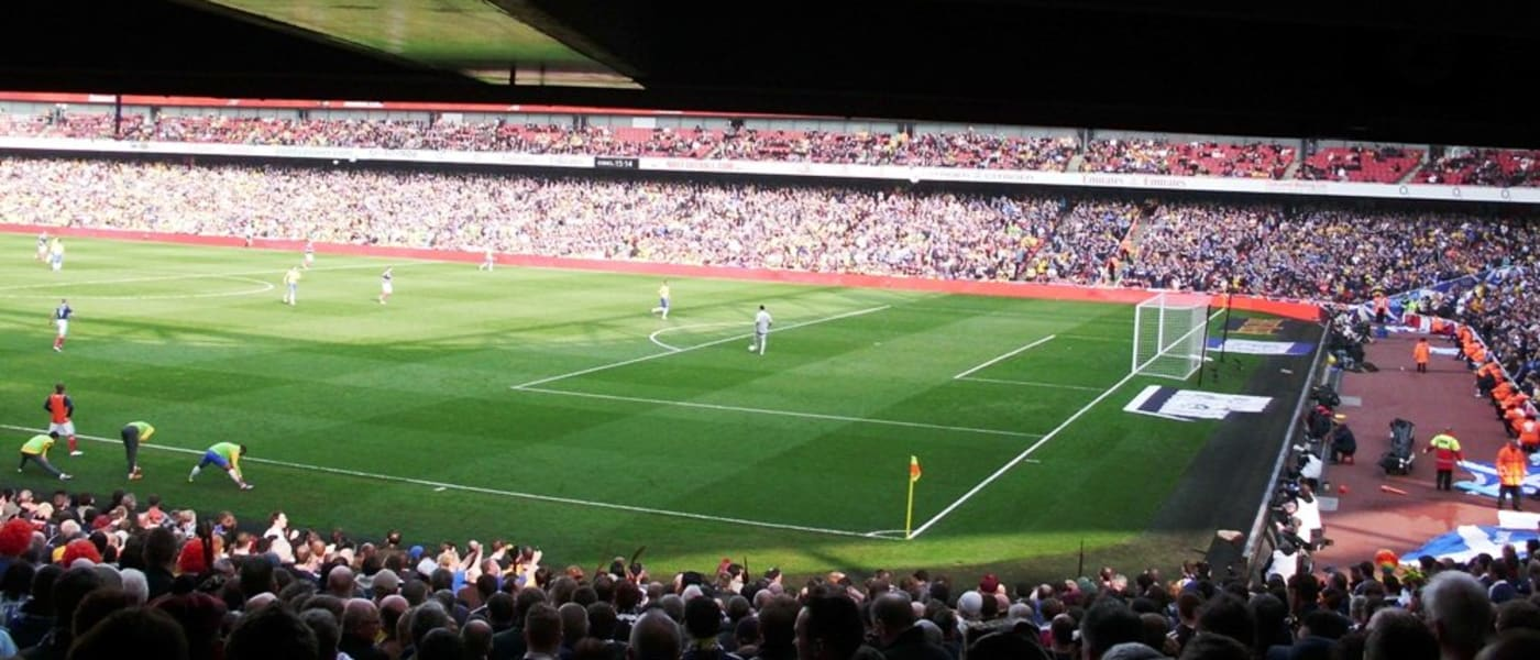 Emirates Stadium sightlines