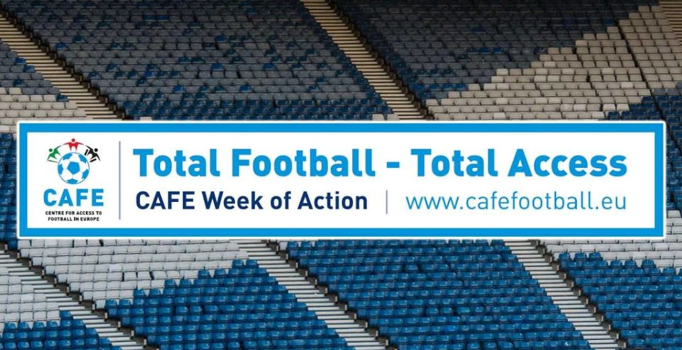 Scottish football offers support for CAFE Week of Action