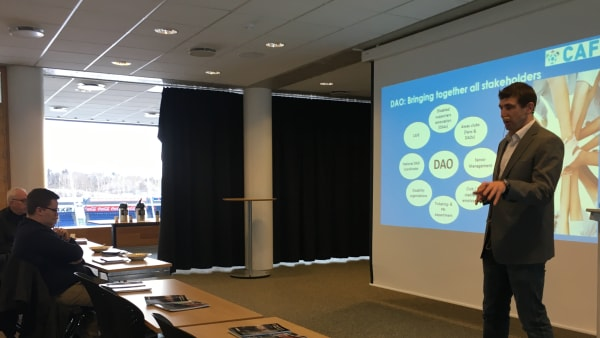 DAO training in Iceland