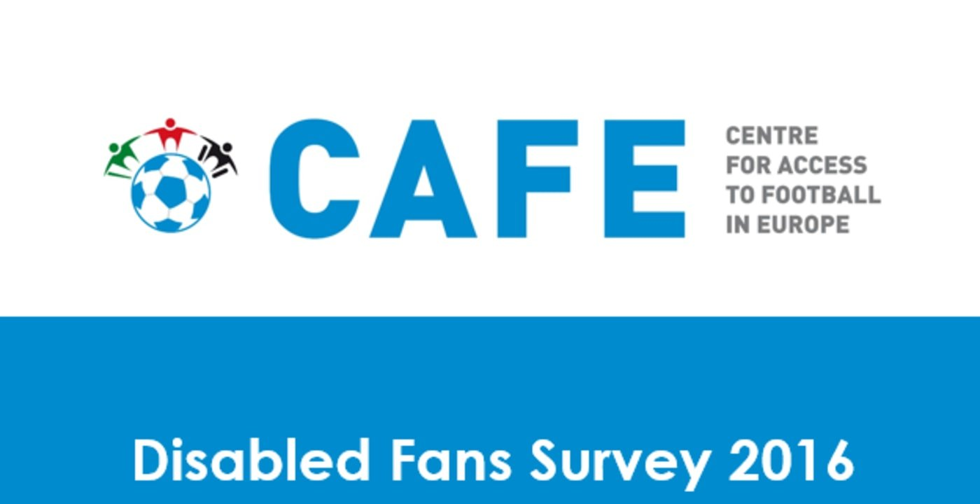 CAFE launches Disabled Fans Survey summary report