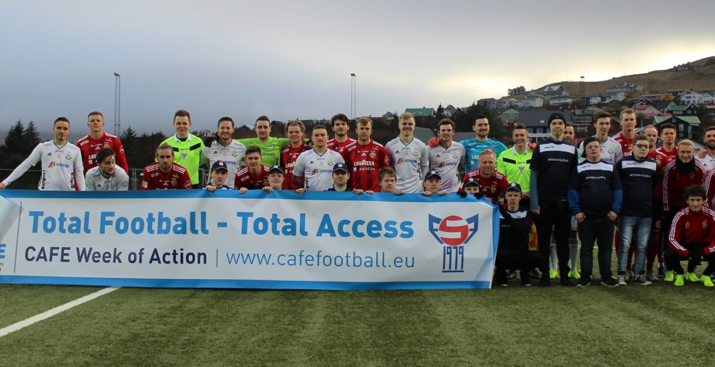 Faroe Islands celebrates #TotalAccess for the first time