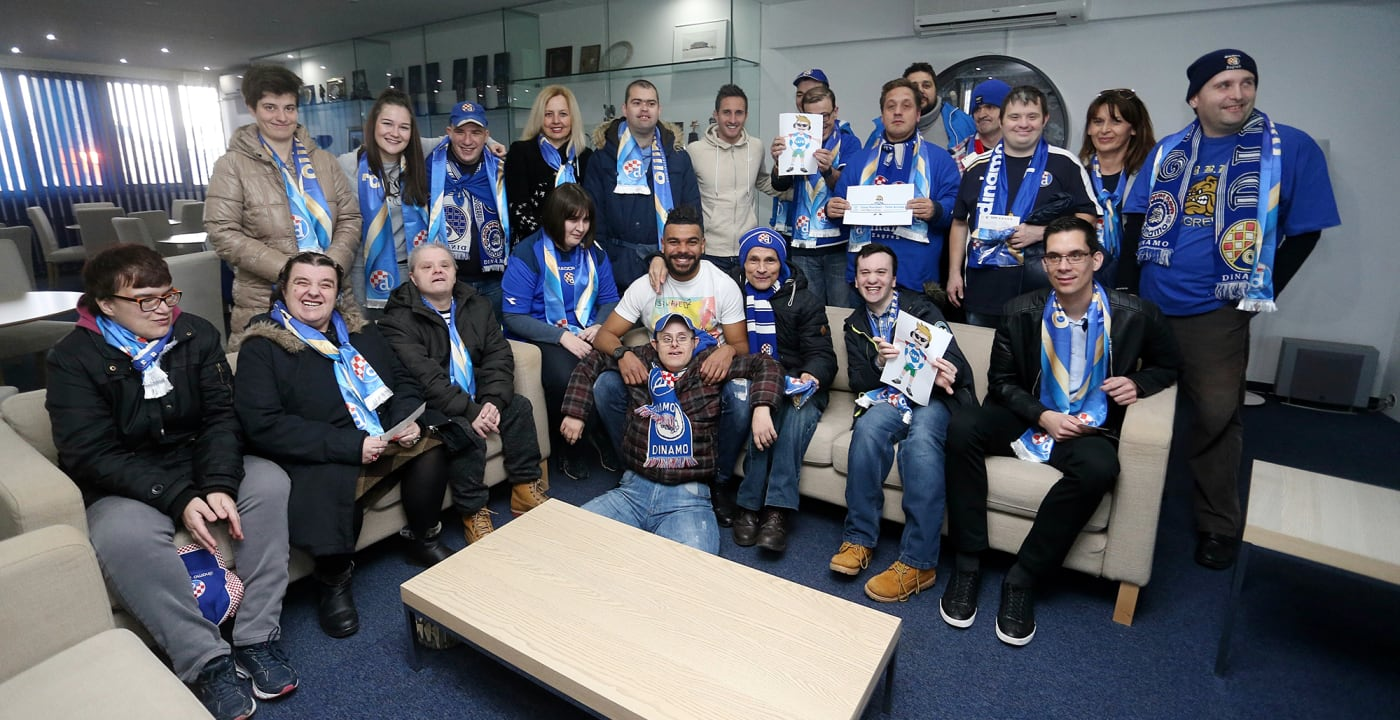 Dinamo Zagreb welcomes disabled fans to enjoy match as VIP guests