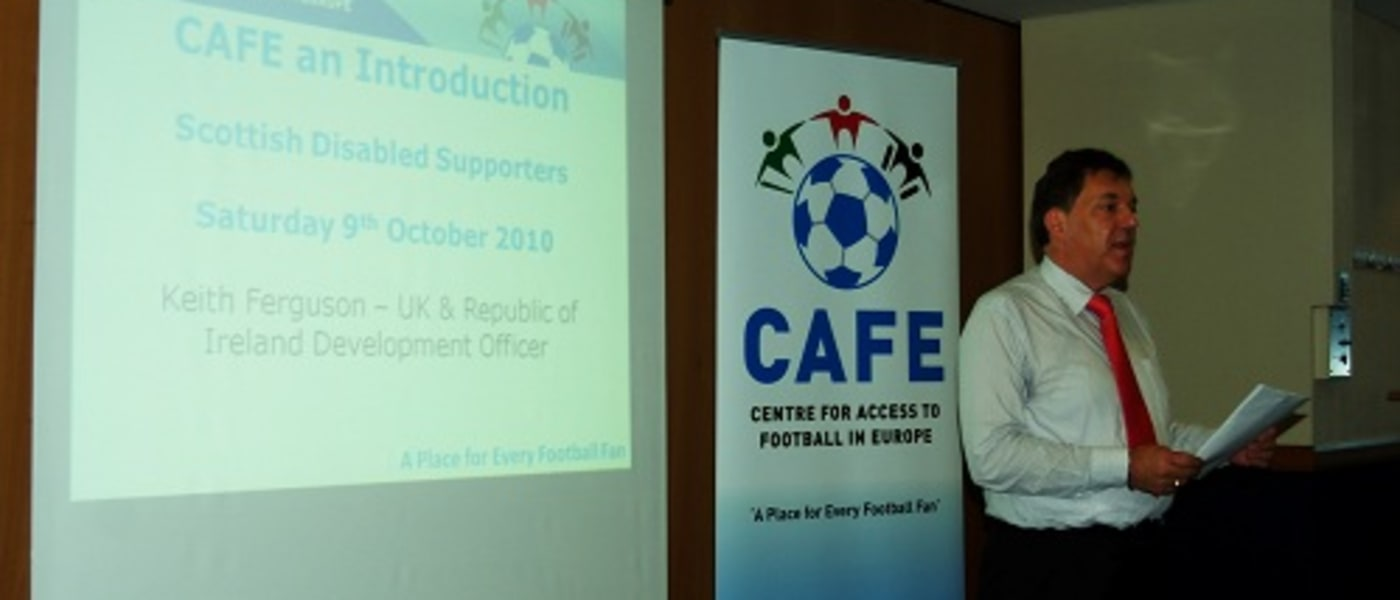 CAFE presentation at the SDSA launch