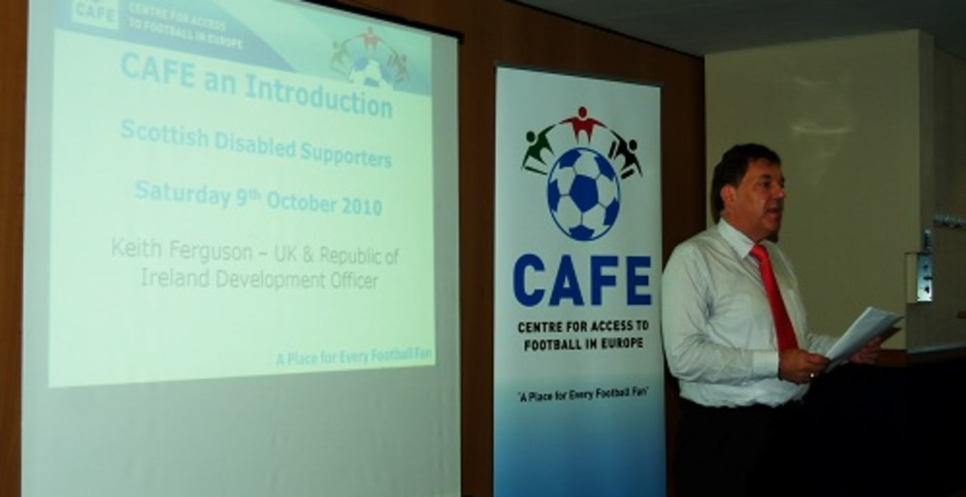 Launch of the Scottish Disabled Supporters Association