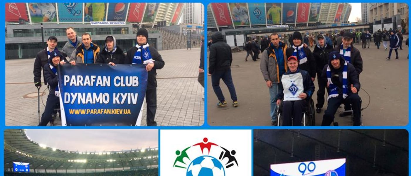 Week of Action celebrations at Dynamo Kyiv