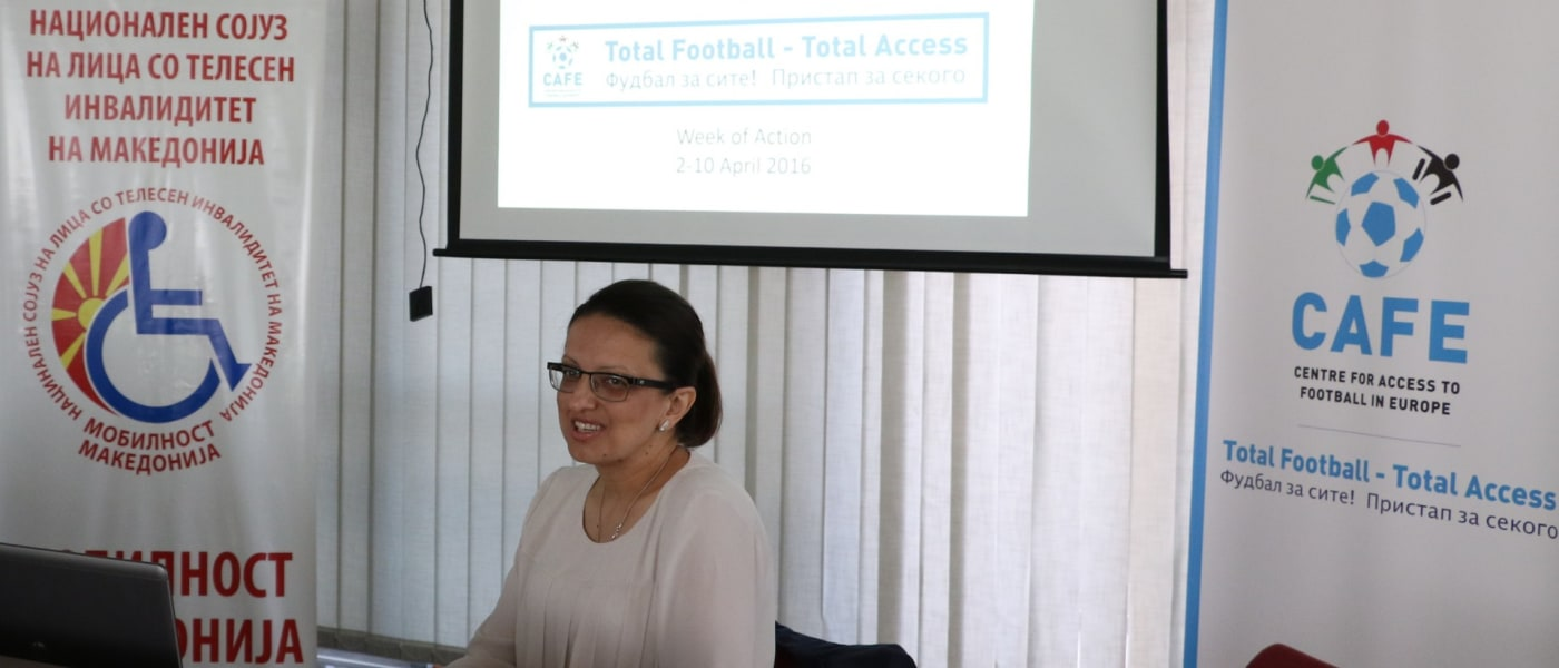 Workshop on access and inclusion in Macedonia