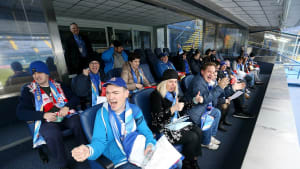 Disabled fans at Dinamo Zagreb