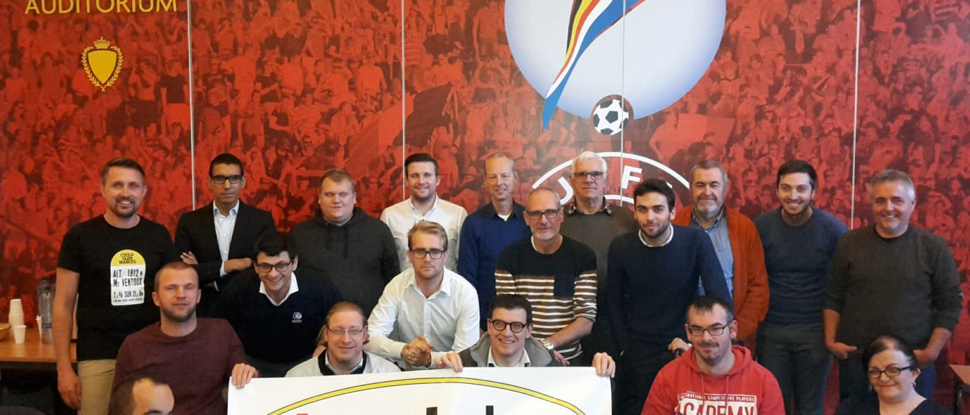 CAFE meet with KBVB, Inside, Pro League and disabled fans