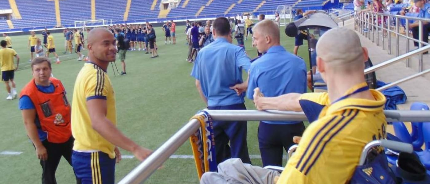 Metalist Kharkiv disabled fan