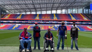 CSKA DSA stadium tour
