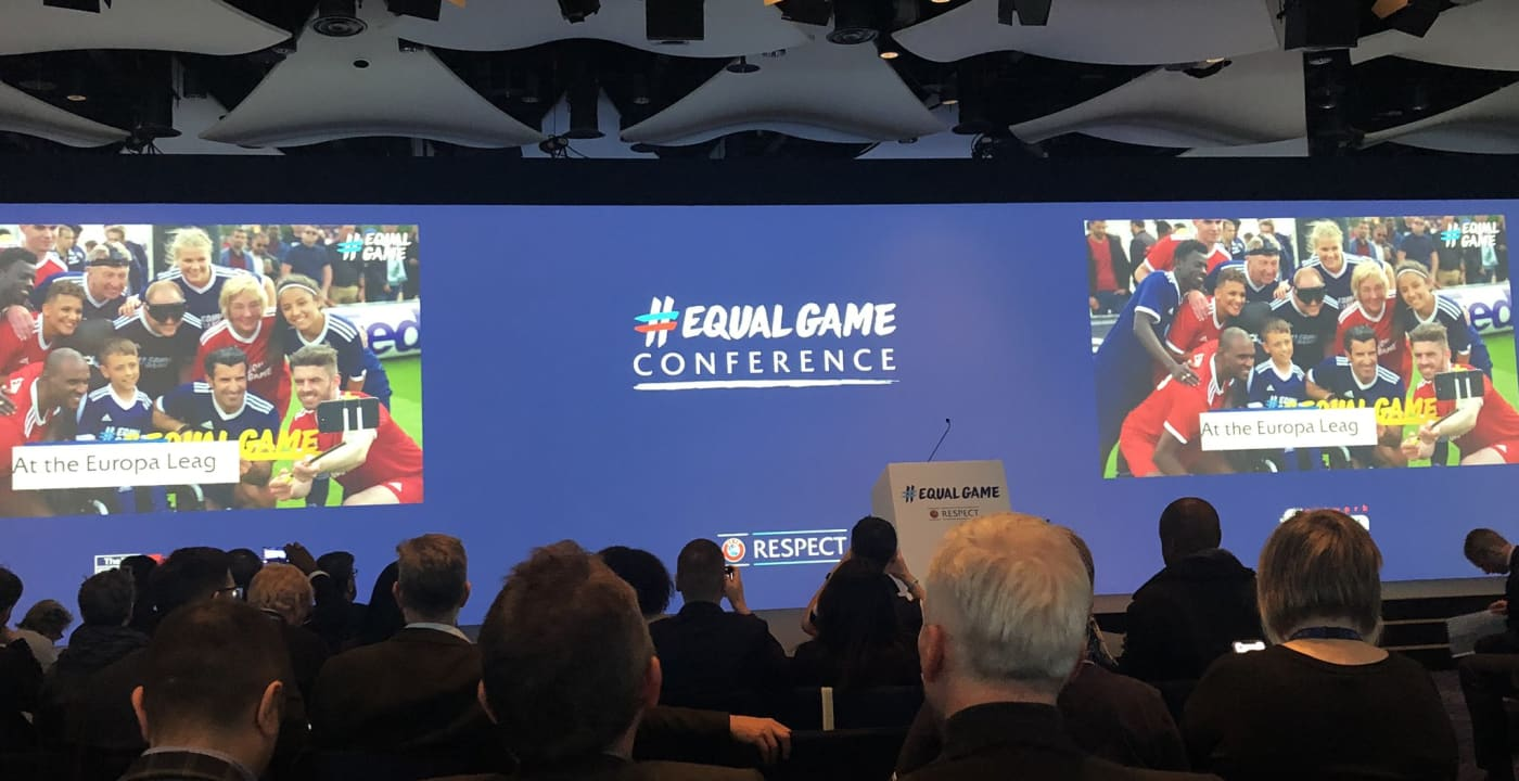 Inclusion and Diversity Championed at UEFA #EqualGame Conference