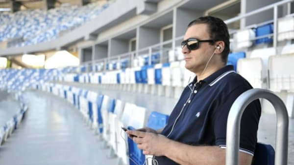 Audio-descriptive commentary implemented at Dinamo Arena, Georgia