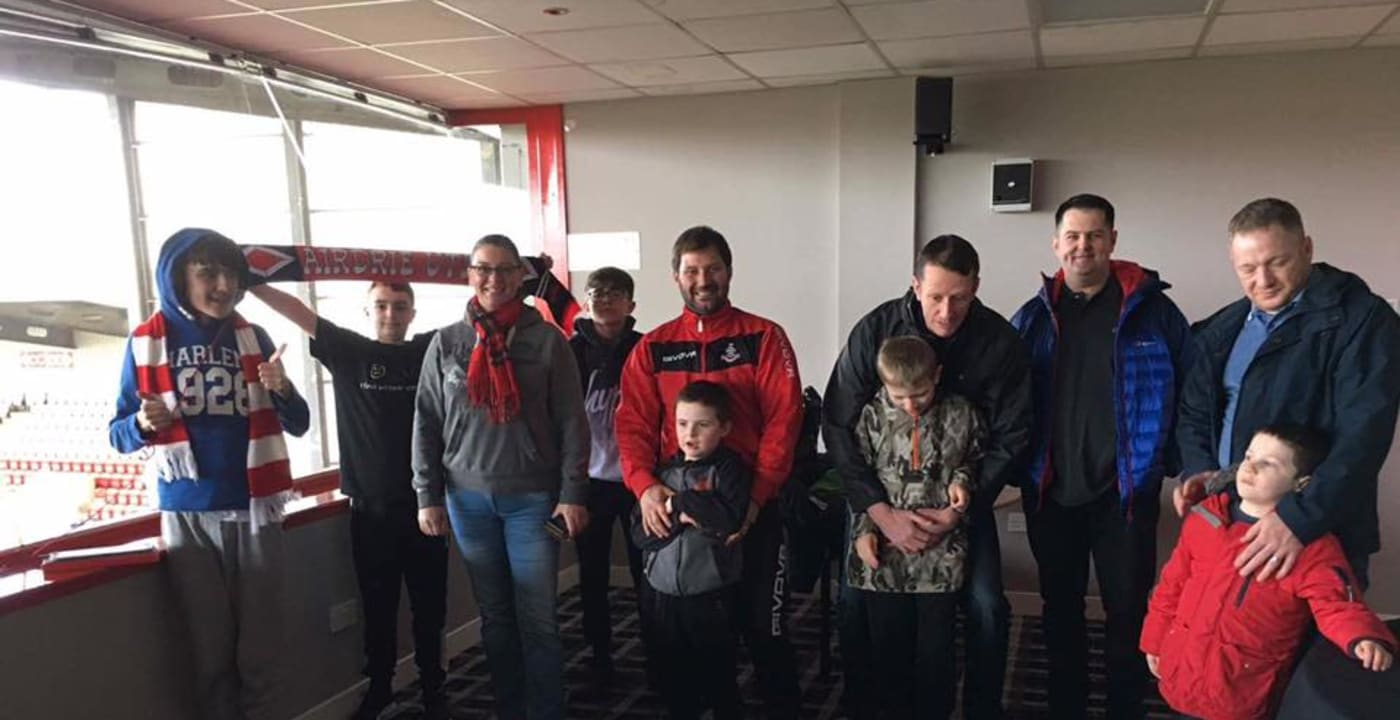 Diamond Sensory Room to be opened at Airdrie FC