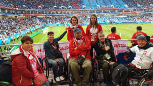 Disabled fans at UEFA EURO 2016