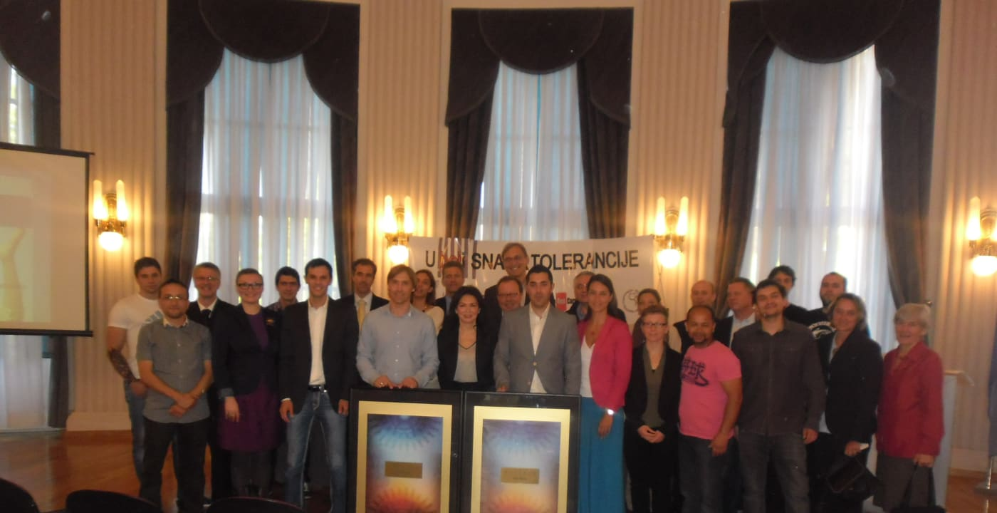 "CAFE attends the ""Power of Tolerance"" event in Zagreb"