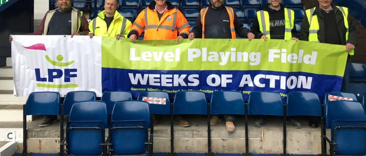 Level Playing Field banner