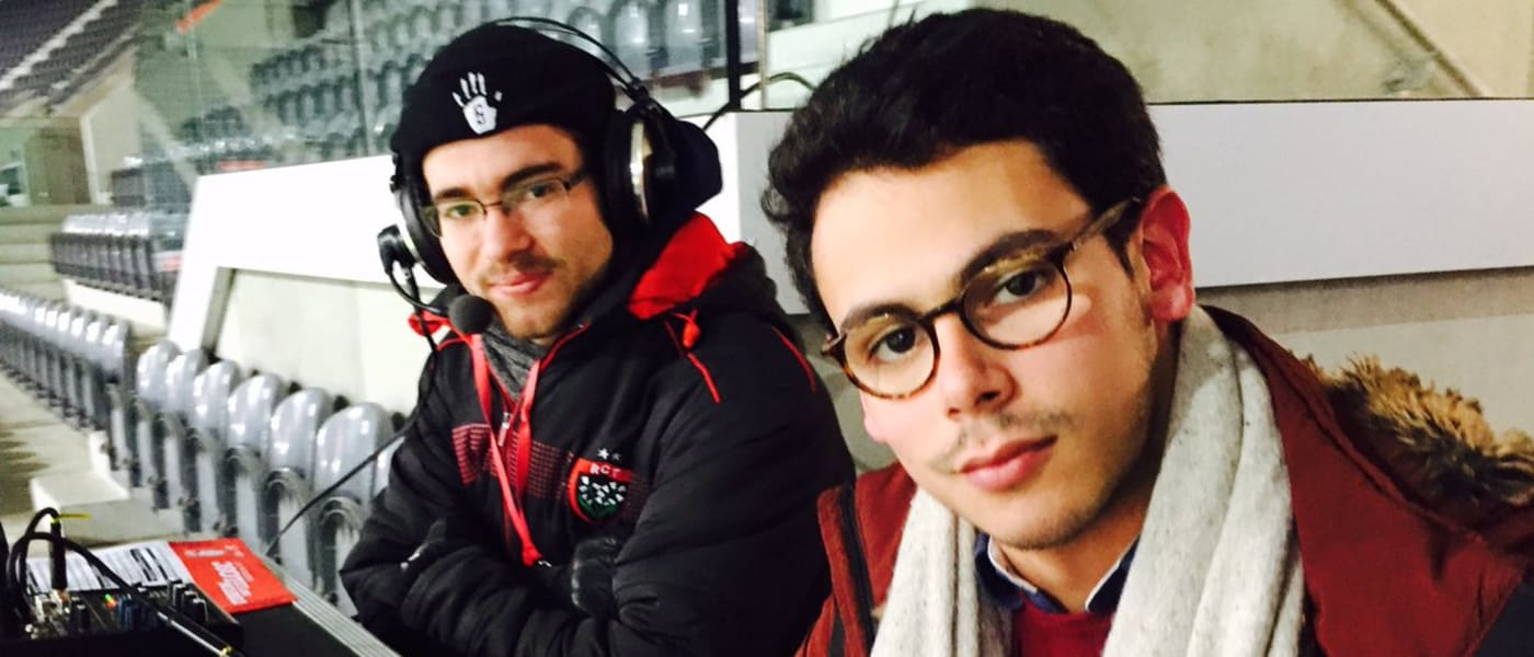 ADC commentators in Lille
