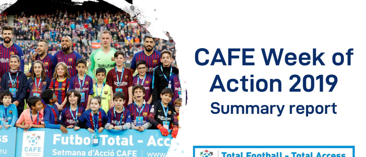 CAFE Week of Action 2019 report cover