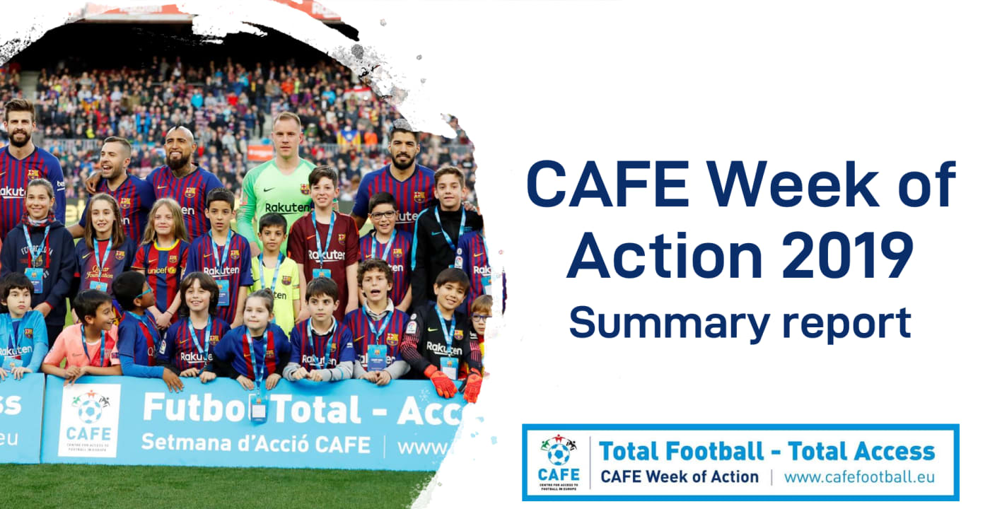 CAFE publishes Week of Action 2019 summary report