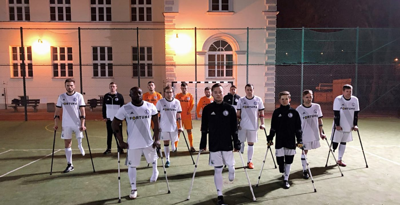 Legia Warsaw continues to celebrate Total Football #TotalAccess