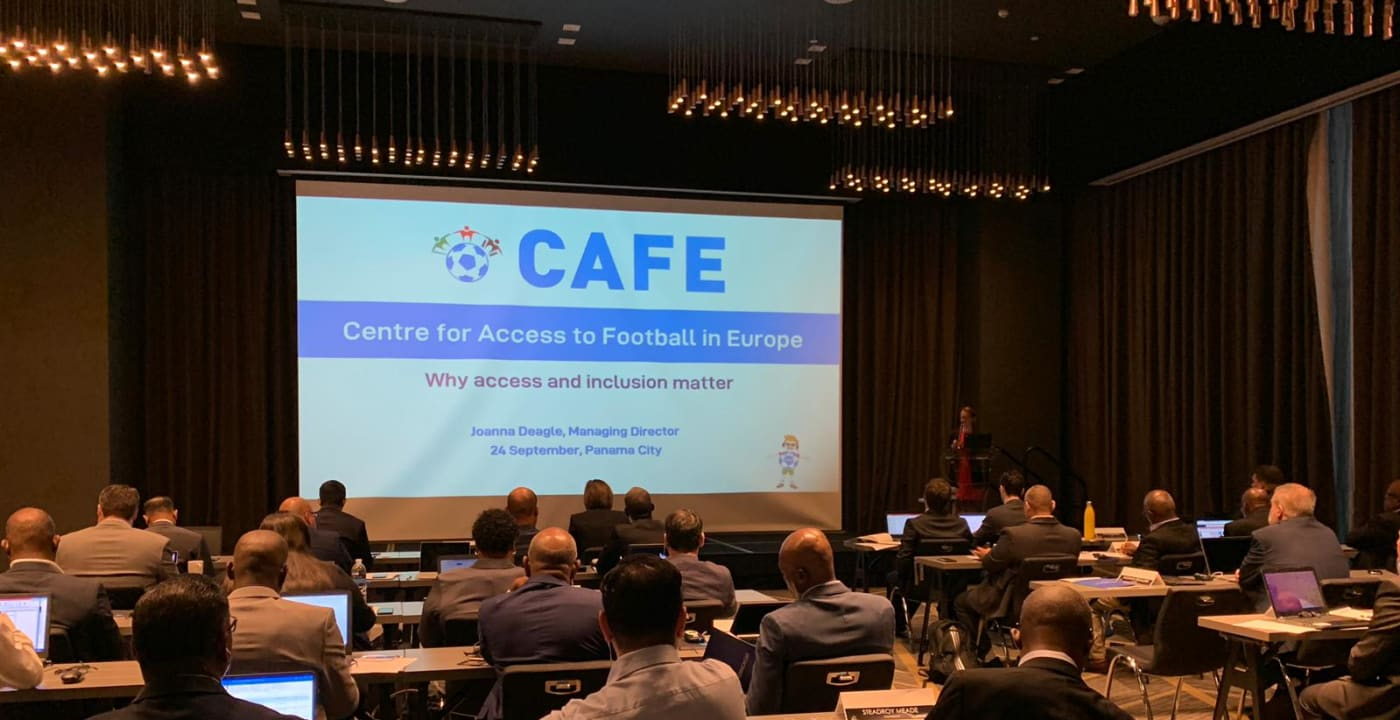 CAFE presents at CONCACAF PFD workshop