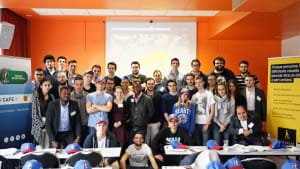 Media students at an ADC seminar in Paris