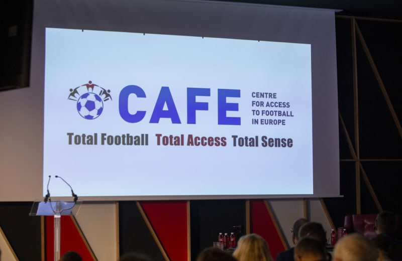 CAFE: Total Football, Total Access, Total Sense