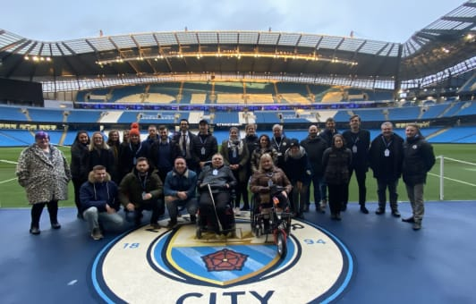 Trilateral DAO Network Group meeting at Man City