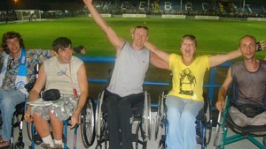 New Sevastopol stadium welcomes disabled fans