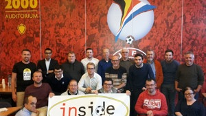 CAFE meets with KBVB, Inside, Pro League and disabled fans in Belgium