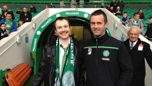 Celtic invite fan with Asperger syndrome to his first match