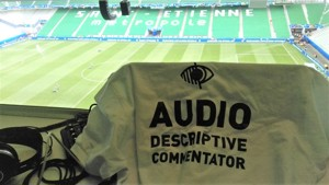 Become an audio-descriptive commentator at UEFA EURO 2020!