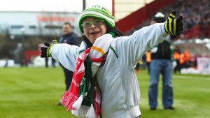 Disabled fan wins Goal of the Month in Scotland with 97% of vote