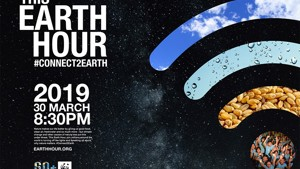 This is Earth Hour 2019 - 20.30 on 30 March