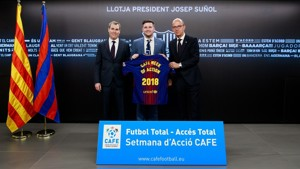 FC Barcelona joins CAFE in celebrating Total Football Total Access