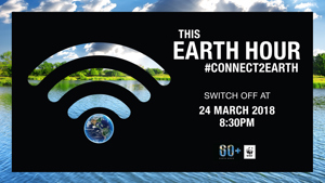 CAFE supports Earth Hour 2018