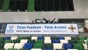 CAFE Week of Action celebrated at Northern Irish national team match